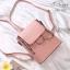พร้อมส่ง กระเป๋าสะพายผู้หญิง - BAG-033 [สีชมพู] thumbnail 3