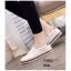 พร้อมส่ง รองเท้าผ้าใบหนังอย่างดี F58G1-WHI [สีขาว] thumbnail 4