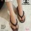 พร้อมส่ง รองเท้าแตะคีบสายโซ่ J317-GRA [สีเทา]