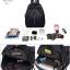พร้อมส่ง กระเป๋าเป้ไนล่อนเซ็ทBSF17013 [สีดำ] thumbnail 5