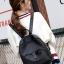 พร้อมส่ง กระเป๋าเป้ผู้หญิงผ้าไนล่อน- BAG-009 [สีดำ] thumbnail 5