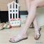 พร้อมส่ง รองเท้าแตะผู้หญิง M1860-SIL [สีเงิน] thumbnail 1