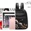 พร้อมส่ง กระเป๋าเป้ผ้าปักลาย-BAG-022 [สีดำ] thumbnail 4