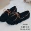 พร้อมส่ง รองเท้าคัทชูส้นแบน TOD'S เชือกผูกโบ G-1180-BLK [สีดำ] thumbnail 4