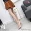 พร้อมส่ง รองเท้าคัชชูผู้หญิง หนังลายวัว K9080-PNK [สีชมพู] thumbnail 1