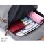 พร้อมส่ง กระเป๋าเป้ผ้าไนล่อนผู้หญิง-BAG-008 [สีเทา] thumbnail 3