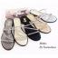 พร้อมส่ง รองเท้าแตะผู้หญิง M1860-BLK [สีดำ] thumbnail 4