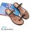 พร้อมส่ง รองเท้าแตะผู้หญิง M1843-BRN [สีน้ำตาล] thumbnail 2