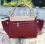 กระเป๋าสะพายแฟชั่น กระเป๋าสะพายข้างผู้หญิง Days bag [สีแดง] thumbnail 4