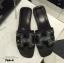 พร้อมส่ง Hermes sandal 766-4-BLK [สีดำ] thumbnail 4