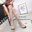 รองเท้าส้นสูงสวม หน้าใส ส้นใส 816-3-ดำ (สีดำ) thumbnail 3