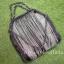 พร้อมส่ง กระเป๋าสะพายข้างผู้หญิง SL style ลายดาว [สีเงิน] thumbnail 5