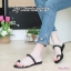 พร้อมส่ง รองเท้าแตะผู้หญิง M1843-BLK [สีดำ] thumbnail 1