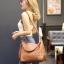 พร้อมส่ง กระเป๋าสะพายข้างผู้หญิง BT Bag [สีน้ำตาล] thumbnail 3