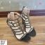 พร้อมส่ง รองเท้าส้นสูง สไตล์เกาหลี 16-1312-BLK [สีดำ] thumbnail 1