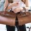 พร้อมส่ง กระเป๋าสะพายข้างผู้หญิง BK super 30 cm [สีน้ำตาล]
