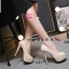 พร้อมส่ง รองเท้าคัชชูเปิดหน้า 17-2318-CRM [สีครีม] thumbnail 1