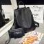 พร้อมส่ง กระเป๋าเป้เซ็ทสามใบผ้าไนล่อน-BAG-023 [สีดำ] thumbnail 2