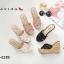 พร้อมส่ง รองเท้าส้นเตารีด สไตล์เกาหลี zevida 17-2285-CRM [สีครีม] thumbnail 4