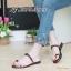 พร้อมส่ง รองเท้าแตะผู้หญิง M1843-BRN [สีน้ำตาล] thumbnail 1