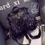 พร้อมส่ง กระเป๋าเป้แฟชั่นนำเข้าทรงเก๋ส์สไตล์แบรนด์ดัง [สีดำ] thumbnail 4