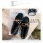 พร้อมส่ง รองเท้าคัทชูส้นแบน TOD'S เชือกผูกโบ G-1180-BLK [สีดำ] thumbnail 1