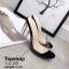 พร้อมส่ง รองเท้าส้นสูง ส้นแก้ว G-1204-BLK [สีดำ] thumbnail 3
