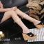 พร้อมส่ง รองเท้าสไตล์สวมส้นเตารีด 17-2288C5-BLK [สีดำ] thumbnail 2