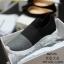 พร้อมส่ง รองเท้าผ้าใบยางยืด คาดบน G-1284-GRY [สีเทา] thumbnail 4