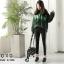 พร้อมส่ง รองเท้าคัทชูผู้หญิง PU สไตล์เรียบ G-1226-BLK [สีดำ] thumbnail 2