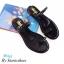 พร้อมส่ง รองเท้าแตะผู้หญิง M1843-BLK [สีดำ] thumbnail 3