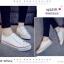 พร้อมส่ง รองเท้าผ้าใบสไตล์คอนเวิร์ส 1738G1-WHI [สีขาว] thumbnail 1
