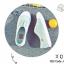พร้อมส่ง ผ้าใบ ไม่มีเชือก G-1228-GRN [สีเขียว] thumbnail 1