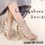 พร้อมส่ง รองเท้าส้นสูง สไตล์เกาหลี 16-1312-GLD [สีทอง] thumbnail 1