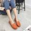 พร้อมส่ง รองเท้าคัทชูส้นเตี้ย N0119D4-ORA [สีส้ม] thumbnail 1