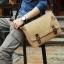 พร้อมส่ง กระเป๋าสะพายผู้ชาย-BAG-028 [สีน้ำตาล] thumbnail 2