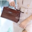 พร้อมส่ง กระเป๋าสะพายข้างผู้หญิง Mini Kelly Crocodile [สีช็อกโกแลต] thumbnail 5