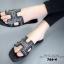 พร้อมส่ง Hermes sandal 766-4-BLK [สีดำ] thumbnail 2