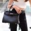 พร้อมส่ง กระเป๋าสะพายข้างผู้หญิง BK super 30 cm [สีดำ] thumbnail 2