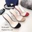 รองเท้าส้นสูงสวม หน้าใส ส้นใส 816-3-กากี (สีกากี) thumbnail 3