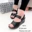 พร้อมส่ง รองเท้าเตารีด หนังเงา รัดข้อ 7797-4-ดำ [สีดำ] thumbnail 4