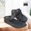 พร้อมส่ง รองเท้าเพื่อสุขภาพ ฟิทฟลอปหนีบ L2928-BLK [สีดำ] thumbnail 2