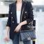 พร้อมส่ง กระเป๋าสะพายข้างผู้หญิง New CN BOY 10นิ้ว [สีดำ] thumbnail 3