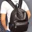 พร้อมส่ง กระเป๋าเป้ผู้ชายหนังนิ่ม-BAG-015 [สีน้ำเงิน] thumbnail 2