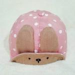 หมวกเด็กเล็ก ผ้านุ่มนิ่ม กระต่ายน้อย