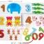 เเฟลชการ์ด/ จิ๊กซอว์ไม้สามมิติ ชุดตัวเลข 1-10 พร้อมถุงเก็ปอุปกรณ์ thumbnail 3
