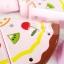ของเล่นไม้เสริมพัฒนาการ ชุดหั่นเเละตกเเต่งเค้ก DIY มีเสียงเพลง HBD thumbnail 4