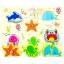 กระดานภาพเเละบล็อคไม้นูน ลายสัตว์ทะเล (เล่นจับคู่ เเละ จิ๊กซอว์) thumbnail 1