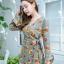 JS0022 เสื้อผ้าแฟชั่น เสื้อผ้าเกาหลี เสื้อผ้าแฟชั่นเกาหลี ชุดจั๊มสูท จั๊มสูทขาสั้น จั๊มสูทกางเกง ชุดออกงาน ชุดทำงาน thumbnail 1