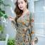 JS0022 เสื้อผ้าแฟชั่น เสื้อผ้าเกาหลี เสื้อผ้าแฟชั่นเกาหลี ชุดจั๊มสูท จั๊มสูทขาสั้น จั๊มสูทกางเกง ชุดออกงาน ชุดทำงาน thumbnail 2